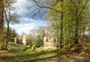Jarní hrad na šířku 2 malý